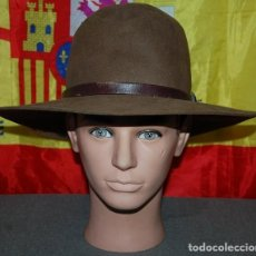Antigüedades: SOMBRERO DE ALA ANCHA CASTELLANO TALLA 60/62. Lote 255026465