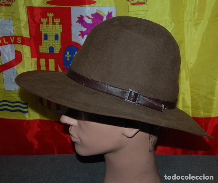 Antigüedades: SOMBRERO DE ALA ANCHA CASTELLANO TALLA 60/62 - Foto 2 - 255026465