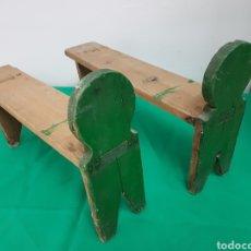 Antigüedades: ANTIGUAS PATAS DE BAUL. Lote 268419039