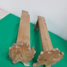 Antigüedades: ANTIGUAS PATAS DE BAUL. Lote 276268063