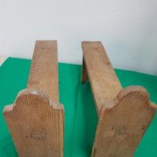 Antigüedades: ANTIGUAS PATAS DE BAUL. Lote 255349335