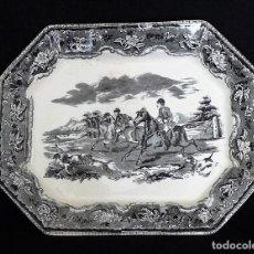 Antigüedades: FUENTE DE CERAMICA DE CARTAGENA.. Lote 255349530