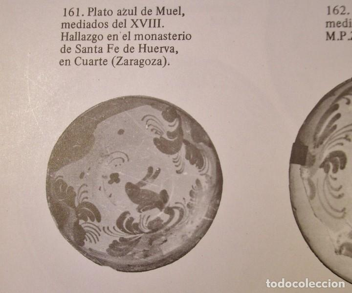 Antigüedades: PLATO CERÁMICA ARAGONESA DE MUEL XVIII - Foto 14 - 255371205
