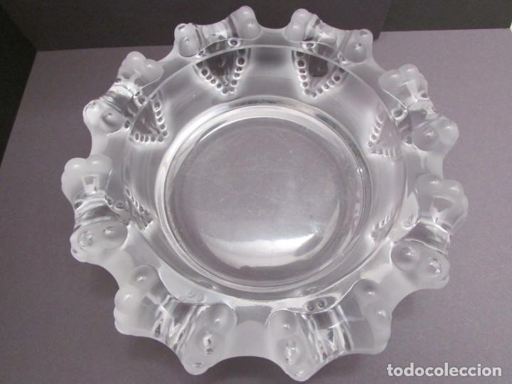 CENTRO. VACIA BOLSILLOS EN CRISTAL LALIQUE FRANCE CANNES OCTOPUS BOWL (Antigüedades - Cristal y Vidrio - Lalique )
