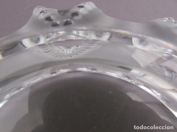 Antigüedades: CENTRO. VACIA BOLSILLOS EN CRISTAL LALIQUE FRANCE CANNES OCTOPUS BOWL - Foto 6 - 255379145