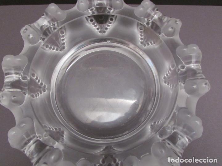 Antigüedades: CENTRO. VACIA BOLSILLOS EN CRISTAL LALIQUE FRANCE CANNES OCTOPUS BOWL - Foto 10 - 255379145