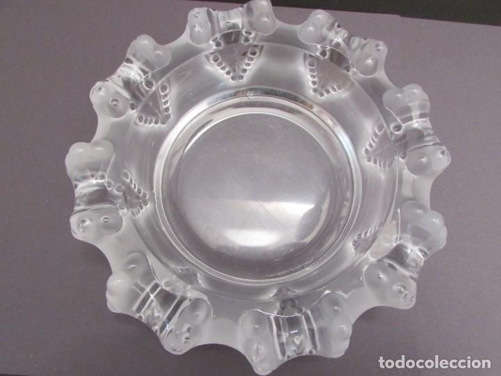 Antigüedades: CENTRO. VACIA BOLSILLOS EN CRISTAL LALIQUE FRANCE CANNES OCTOPUS BOWL - Foto 12 - 255379145