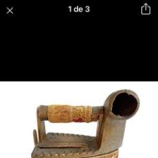 Antigüedades: PLANCHA DE CARBÓN SIGLO XIX. Lote 255395930