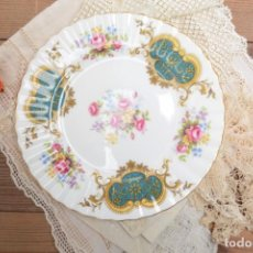 Antigüedades: PLATO DE POSTRE DE PORCELANA DE ROYAL ALBERT BONE CHINA ENGLAND BERKELEY. Lote 255401480
