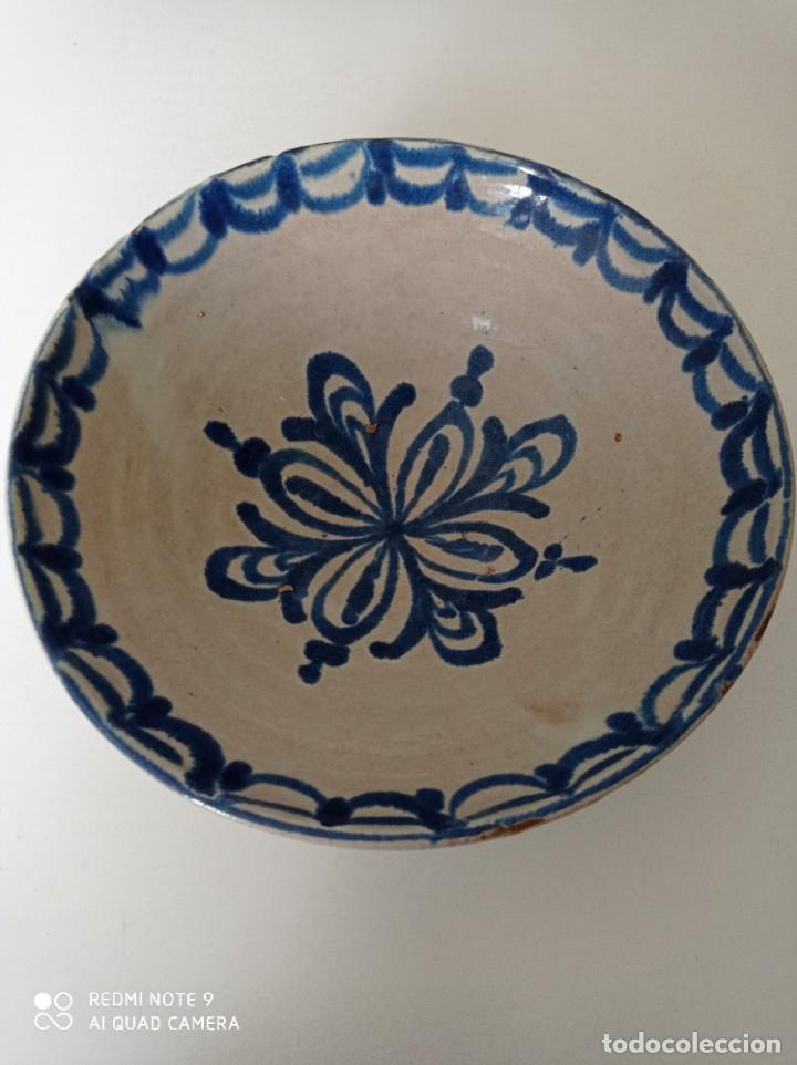 FAJALAUZA, ANTIGUO Y ESPECTACULAR LEBRILLO, 33 CM DE DIÁMETRO (Antigüedades - Porcelanas y Cerámicas - Fajalauza)