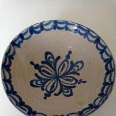 Antigüedades: FAJALAUZA, ANTIGUO Y ESPECTACULAR LEBRILLO, 33 CM DE DIÁMETRO. Lote 255501370