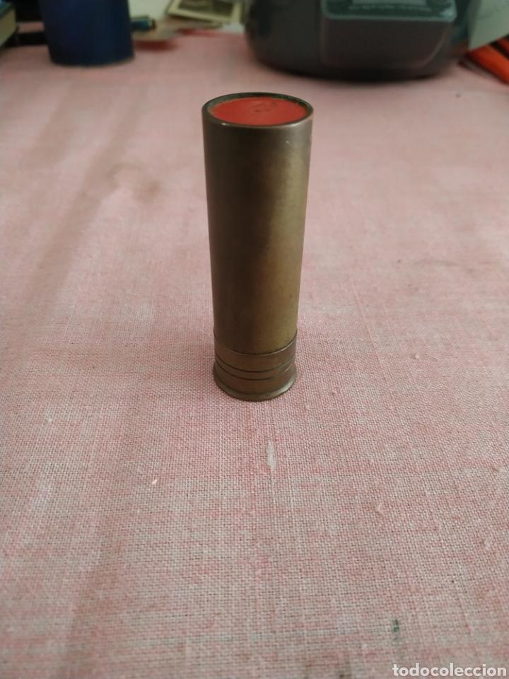 Antigüedades: Encendedor con forma de cartucho de caza - Foto 2 - 255522520