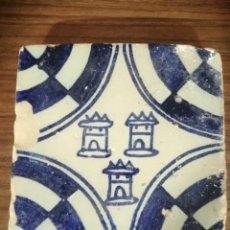Oggetti Antichi: AZULEJO ESTILO MEDIEVAL S.XV. Lote 255562510