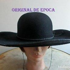 Antigüedades: (JX-210403)ANTIGUA TEJA,SOMBRERO PARA SACERDOTE,CURA,CAPELLÁN,REALIZADO EN SOMBRERERÍA CELADA,MADRID. Lote 255564850