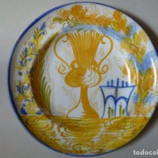 Antigüedades: PLATO DE CERÁMICA DE MANISES. Lote 255571535