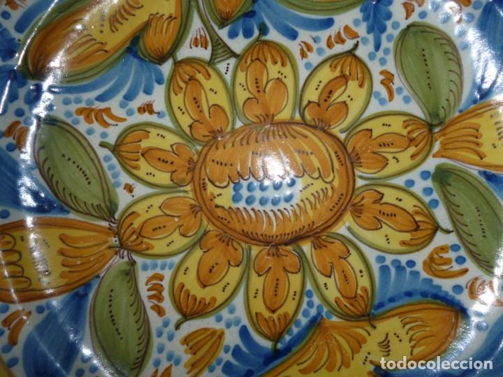 Antigüedades: Plato de cerámica de Manises siglo XIX - Foto 3 - 255572195