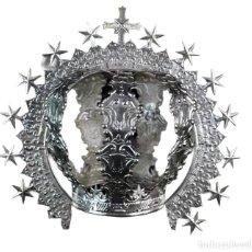 Antigüedades: CORONA IMPERIAL PARA IMAGEN. PLATA. MEDIADOS SXX SEVILLA. 114GR. SIN USAR.6.5 CM DIÁMETRO ARO. Lote 219357392