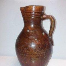 Antigüedades: ANTIGUA JARRA O MEDIDA DE BARRO. Lote 255917600