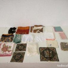 Antigüedades: LOTE DE UNOS 18 PAÑUELOS, A CLASIFICAR. Lote 255924280