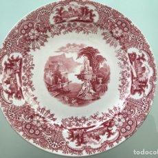 Antigüedades: PLATO PICKMAN CARTUJA SERIE VISTAS. Lote 255941450