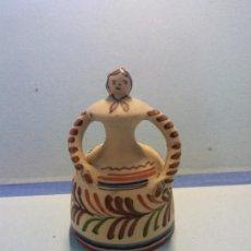 Antigüedades: BONITA CAMPANA ANTIGUA. RECUERDO DE MENORCA. MEDIDAS: 12*7'5CM. Lote 255941535
