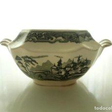 Antigüedades: ANTIGUO AZUCARERO LA CARTUJA PICKMAN. SIN TAPA. Lote 255943215