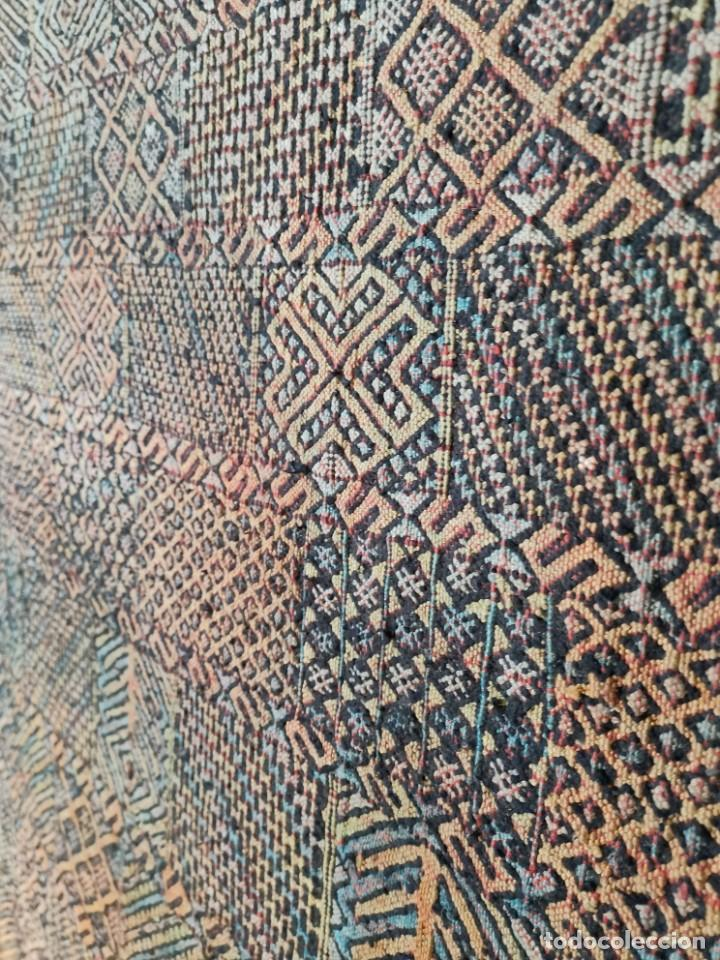 Antigüedades: KILIM TAPIZ BEREBER-ALFOMBRA- AÑOS 30 ORIGINAL HANDMADE 127 X 250 --------------REF-MO - Foto 9 - 255943470