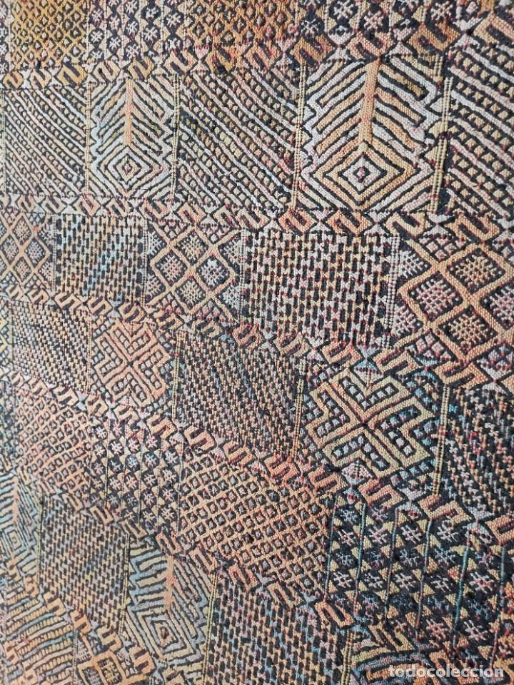Antigüedades: KILIM TAPIZ BEREBER-ALFOMBRA- AÑOS 30 ORIGINAL HANDMADE 127 X 250 --------------REF-MO - Foto 10 - 255943470