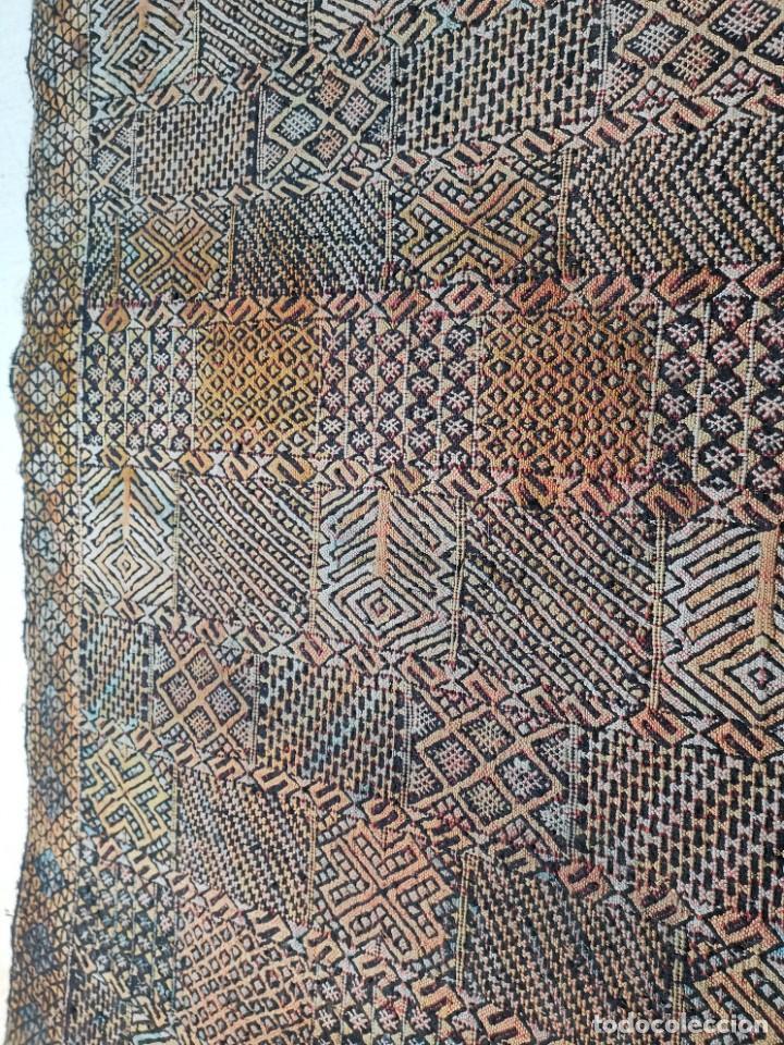 Antigüedades: KILIM TAPIZ BEREBER-ALFOMBRA- AÑOS 30 ORIGINAL HANDMADE 127 X 250 --------------REF-MO - Foto 11 - 255943470