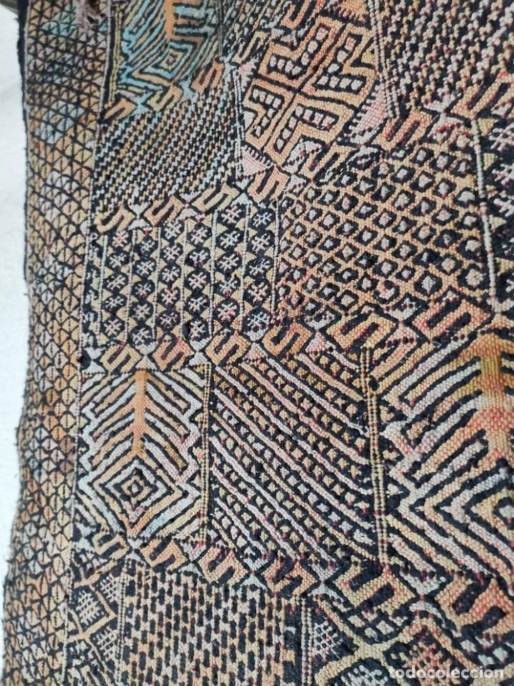 Antigüedades: KILIM TAPIZ BEREBER-ALFOMBRA- AÑOS 30 ORIGINAL HANDMADE 127 X 250 --------------REF-MO - Foto 16 - 255943470