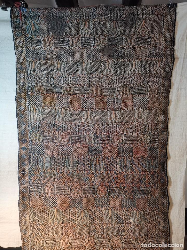 Antigüedades: KILIM TAPIZ BEREBER-ALFOMBRA- AÑOS 30 ORIGINAL HANDMADE 127 X 250 --------------REF-MO - Foto 73 - 255943470
