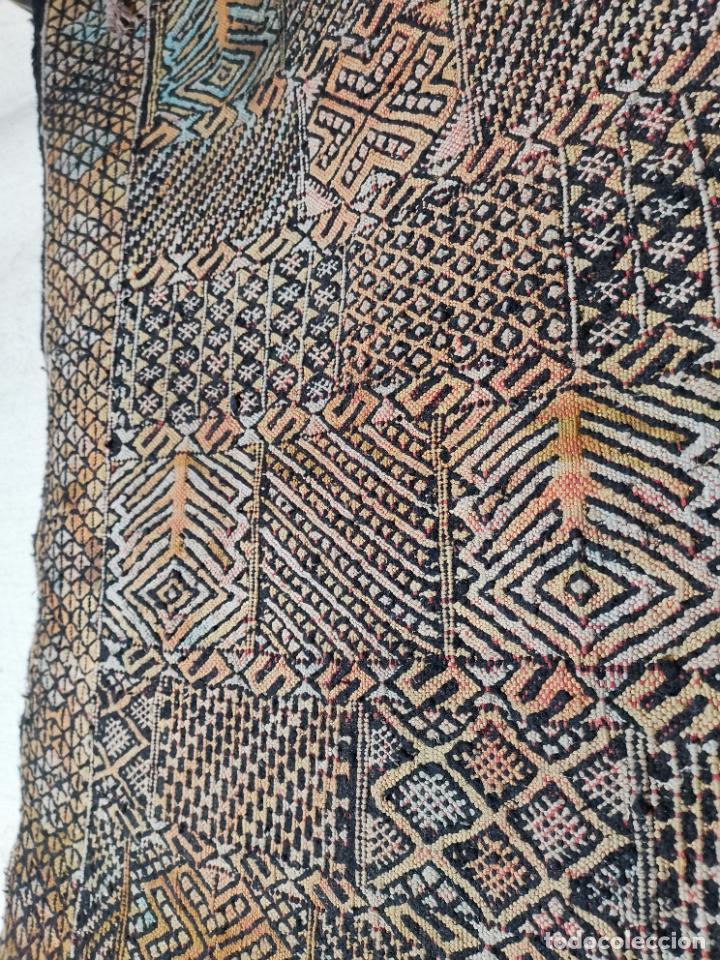 KILIM TAPIZ BEREBER-ALFOMBRA- AÑOS 30 ORIGINAL HANDMADE 127 X 250 --------------REF-MO (Antigüedades - Hogar y Decoración - Alfombras Antiguas)