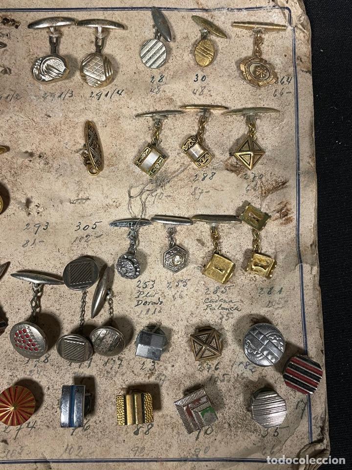 Antigüedades: MOSTRADO DE 105 GEMELOS - Foto 5 - 255958695