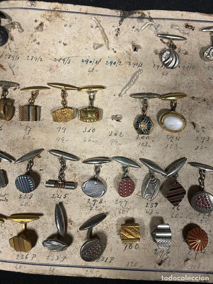 Antigüedades: MOSTRADO DE 105 GEMELOS - Foto 7 - 255958695