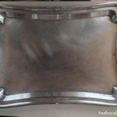 Antigüedades: BANDEJA DE PLATA MENESES - 37 X 27 CM. Lote 255992710