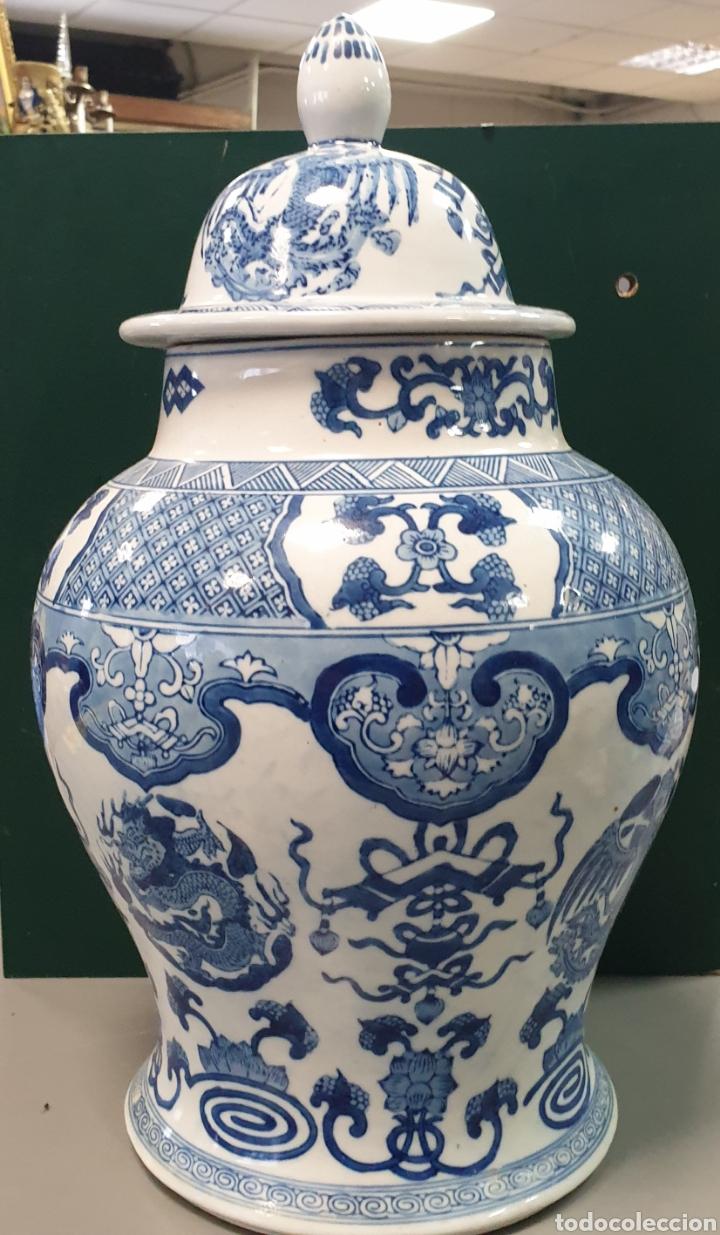 TIBOR CHINO 45X23 CM (Antigüedades - Porcelanas y Cerámicas - China)