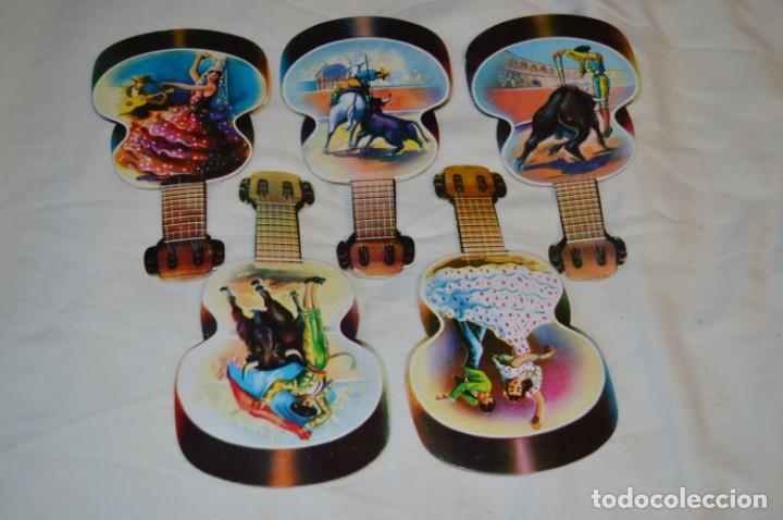 Antigüedades: Modelos diferentes / Detalles taurinos y flamencos - 5 PAI PAI / Reverso con publicidad ¡Mira fotos! - Foto 2 - 256040190