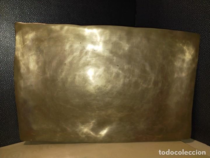 Antigüedades: Bandejas de metal - Foto 2 - 256055475