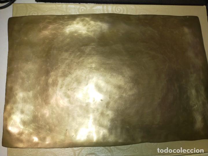 Antigüedades: Bandejas de metal - Foto 4 - 256055475