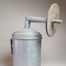 Antigüedades: ANTIGUA LUZ DE CARBURO CARBURERO AÑOS 20 --ZINC----REF-MO. Lote 256061980