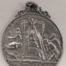 Antigüedades: MEDALLA PLATA NUESTRA SEÑORA DE LA MERCED 1918 VIRGEN DE BARCELONA 46 MM. Lote 256122725