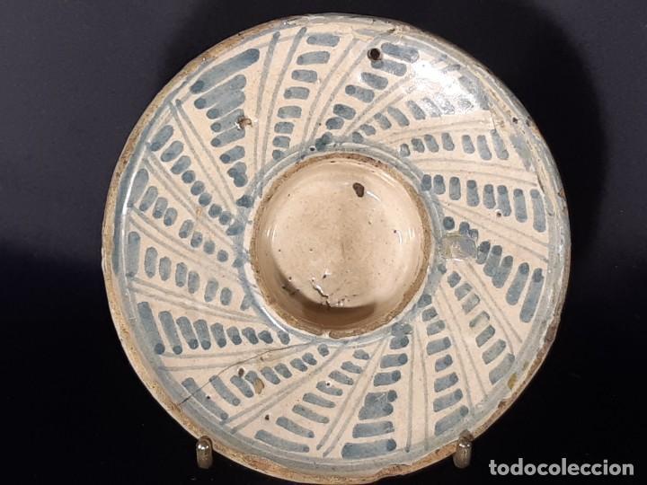 MANCERINA, ESPECIERO, SALERO. TERUEL. SIGLO XVIII. (Antigüedades - Porcelanas y Cerámicas - Teruel)