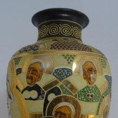 Antigüedades: JARRÓN SATSUMA. Lote 256158010