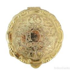 Antigüedades: POLVERA DE ESTILO ABARROCADO, PRINCIPIOS DEL S XX. Lote 209197615