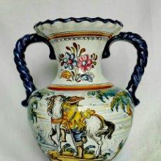 Antiquités: VASIJA CERÁMICA DE TALAVERA. Lote 256166650