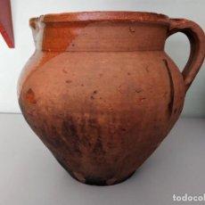 Antigüedades: ANTIGUO PEROL DE MORA DE RUBIELOS (TERUEL). Lote 257274325