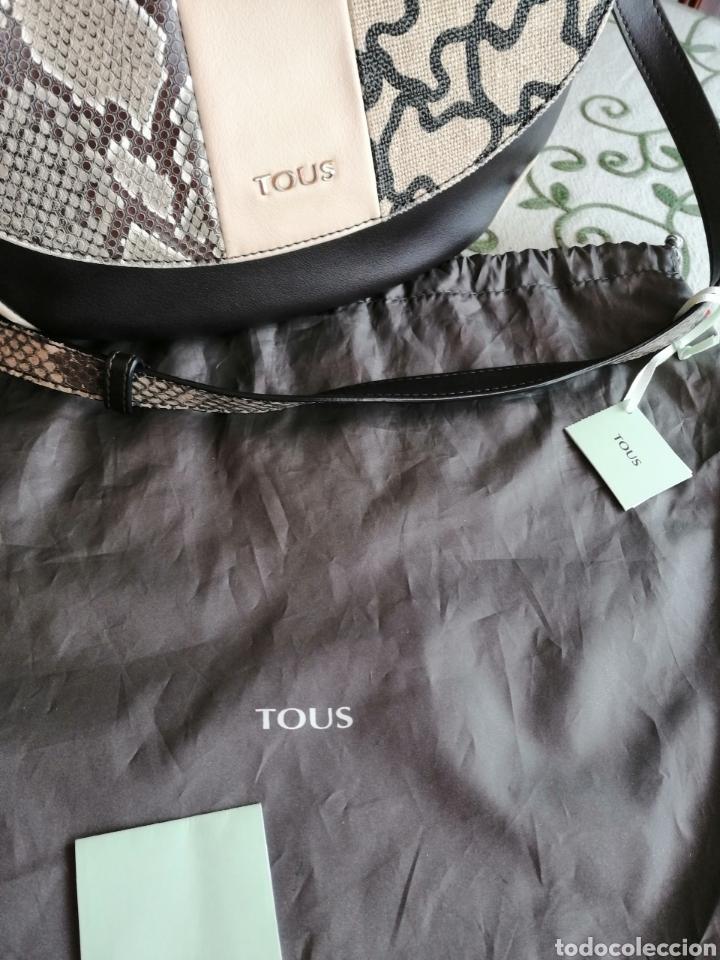 Antigüedades: Bolso de piel, marca Tous auntentico, certificado. - Foto 9 - 257292165