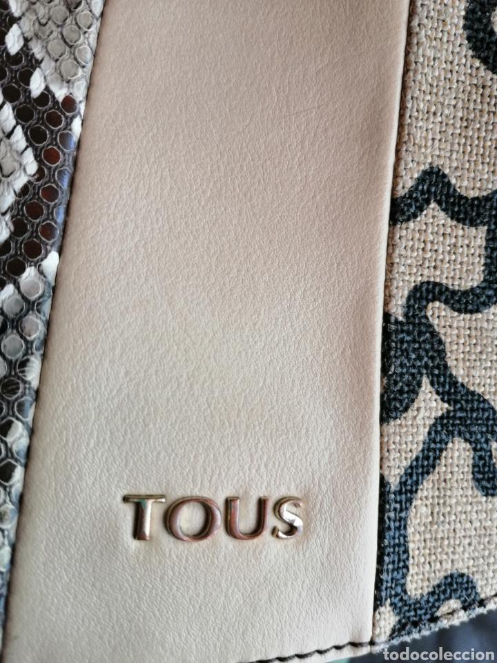 Antigüedades: Bolso de piel, marca Tous auntentico, certificado. - Foto 10 - 257292165