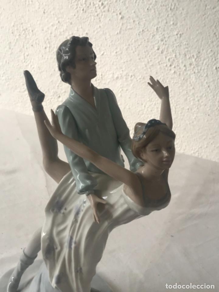 Antigüedades: Pareja de Bailarines Ballet - Porcelana Nao By Lladró, Daisa 1983 - Foto 6 - 257293555
