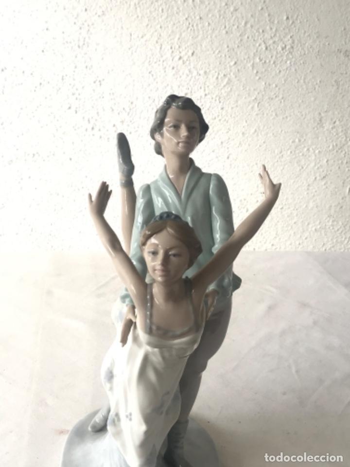 Antigüedades: Pareja de Bailarines Ballet - Porcelana Nao By Lladró, Daisa 1983 - Foto 7 - 257293555